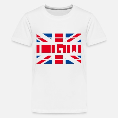 Engeland Groot-Brittannië - London Gatwick Airport - Teenager premium T-shirt