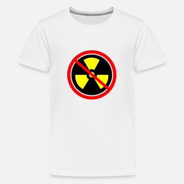 Castor Transport Anti nuclear power Nuclear power stations Nuclear energy Atomic energy - Teenage Premium T-Shirt