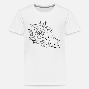 Moe cat - Teenage Premium T-Shirt