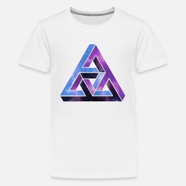 Optical Illusion Optical illusion - optical illusion - Teenage Premium T-Shirt