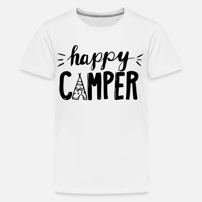 Christmas T-Shirts - Camper - Teenage Premium T-Shirt white