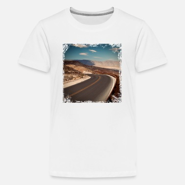 Road On the roads - Teenage Premium T-Shirt