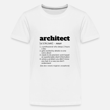33959ce8 Architect Definition T-Shirt, Funny Architects Baby T-Shirt ...
