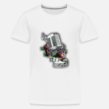 Musical music - Teenage Premium T-Shirt