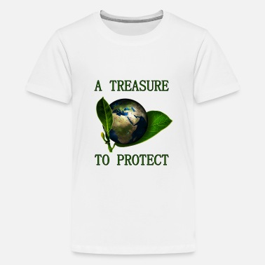 A Treasure to Protect (our Planet) - Teenager Premium T-Shirt