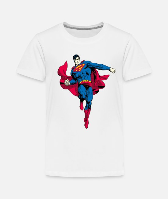 Daily Planet T-shirts - Superman Pose Tee shirt Enfant - T-shirt premium Ado blanc
