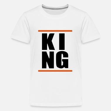Hiphop Ragazzo con re regalo HipHop KING KING - T-Shirt premium per ragazzi 311d0c420dc6