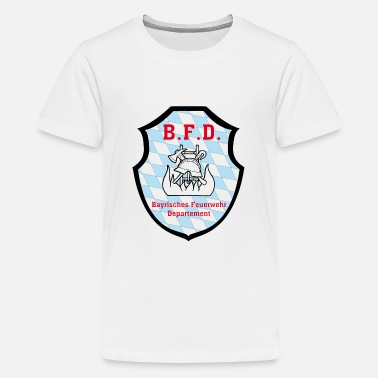 Unofficial Bavarian fire department badge - Teenage Premium T-Shirt