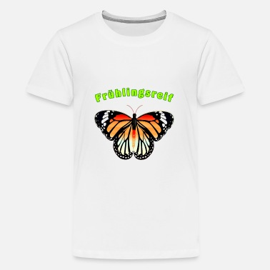 Butterfly spring ripe - Teenage Premium T-Shirt