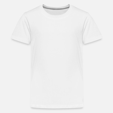 wow - Teenager premium T-shirt