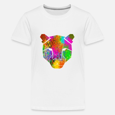 Leopard - Teenage Premium T-Shirt