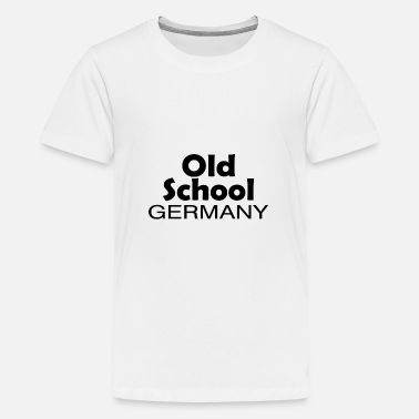 Patriot Old School Duitsland oorsprong thuis cadeau - Teenager premium T-shirt