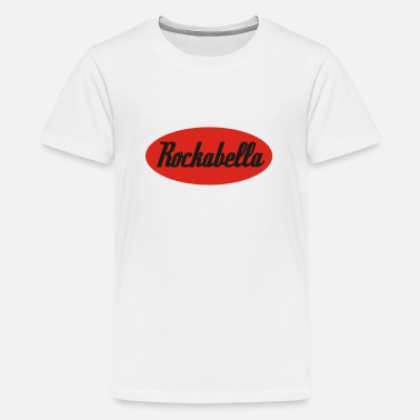 Rockabella Rockabilly Psychobilly Rock and Roll - Teenage Premium T-Shirt
