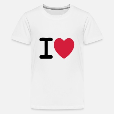 I Love I love I love custom - Teenage Premium T-Shirt