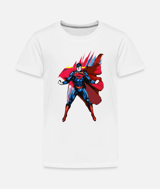 Movie T-shirts - Superman Power Pose Teenager's T-Shirt - Teenager premium T-shirt wit