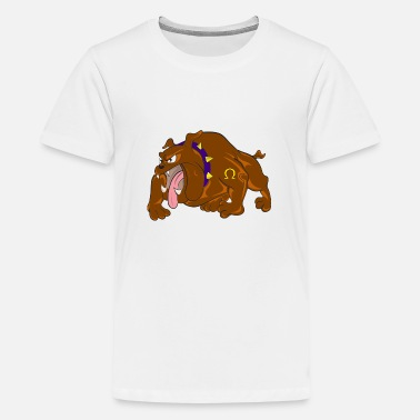 bulldog 309162 960 720 - Teenage Premium T-Shirt
