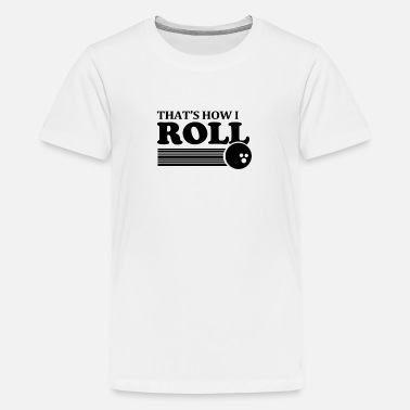 DAT IS HOE IK ROL SHIRT 2XL bowlen grappige retro t - Teenager premium T-shirt
