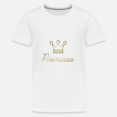Or Princesse couronne or princesse idée cadeau enfant - T-shirt premium Ado