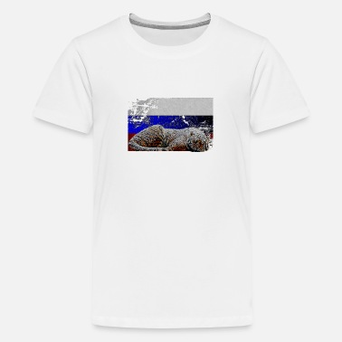 Russischer Tiger - Teenager Premium T-Shirt