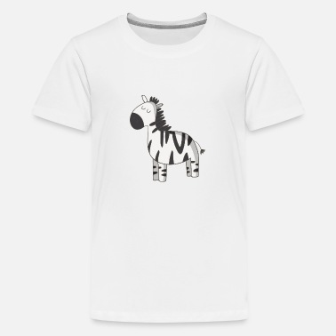 Zebras zebra - Teenage Premium T-Shirt