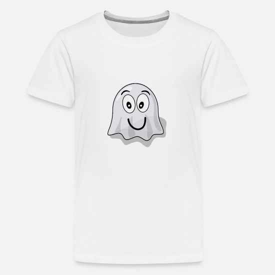 Grin T-Shirts - Funny spirit - Teenage Premium T-Shirt white