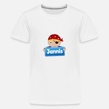 Jannis Little Pirate Jannis - Premium T-shirt tonåring