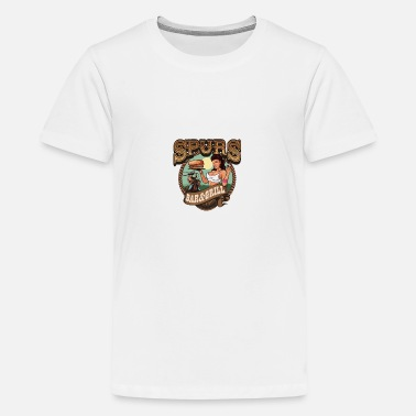 Spurs spurs bar and grill - Teenage Premium T-Shirt