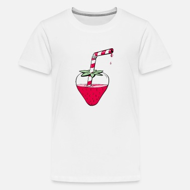 Summer Ts STRAWBERRY - Teenage Premium T-Shirt