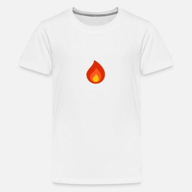 Flamme - Teenager Premium T-Shirt