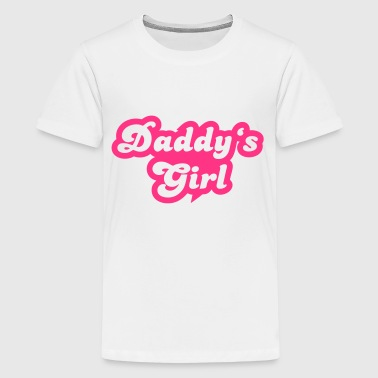 Daddy's girl - Teenager Premium T-Shirt