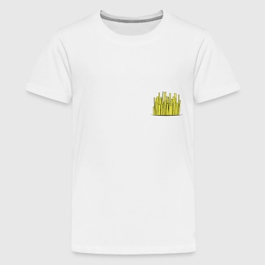 Pommes / French Fries in a pocket - Teenager Premium T-Shirt
