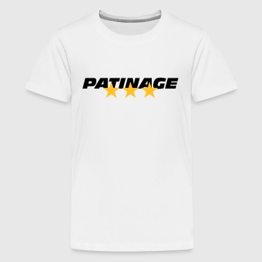 Patinage - T-shirt Premium Ado