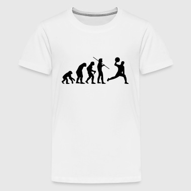 DODGEBALL EVOLUTION! - Teenage Premium T-Shirt
