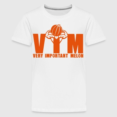 vim very important melon bodybuilder 16 - Teenager Premium T-Shirt