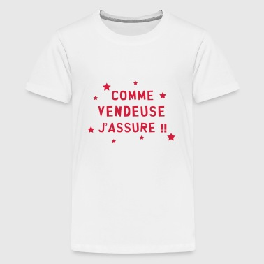 Vendeur / Vendeuse / Vente / Magasin / Commerce - T-shirt Premium Ado
