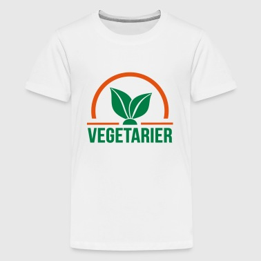 Vegetarian - Teenage Premium T-Shirt