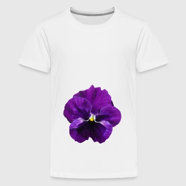 flowers lilies tulips orchids sunflower dahlia ger - Teenage Premium T-Shirt