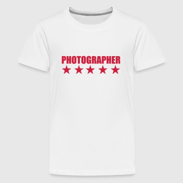 Photographer - Teenage Premium T-Shirt