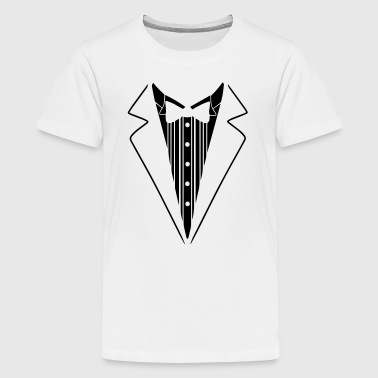 Suit - Teenage Premium T-Shirt