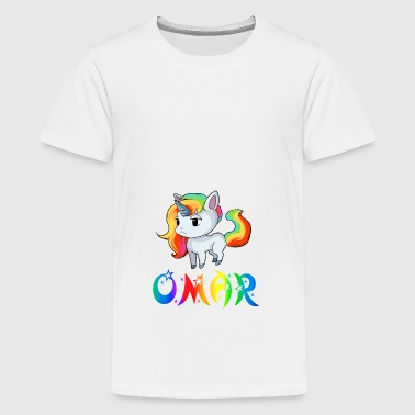 Unicorn Omar - Teenage Premium T-Shirt