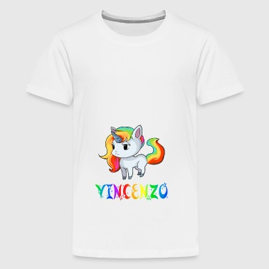 Einhorn Vincenzo - Teenager Premium T-Shirt