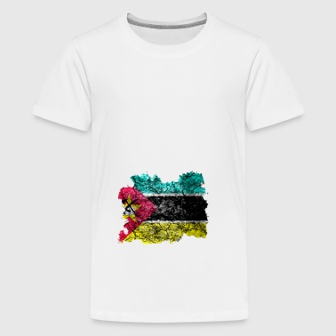 Mozambique Vintage Flag - Teenager premium T-shirt