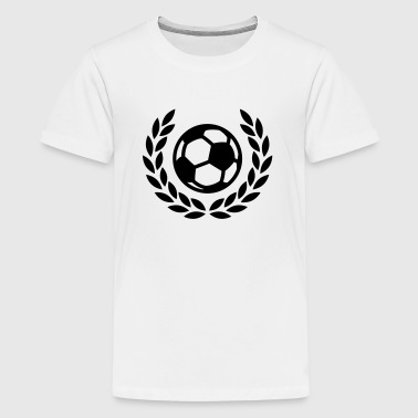 voetbal laurier Shirts - Teenager Premium T-shirt