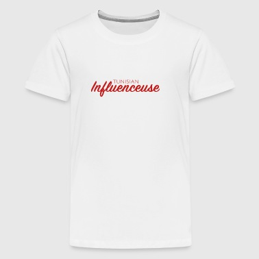 Tunisian Influencer - Teenage Premium T-Shirt