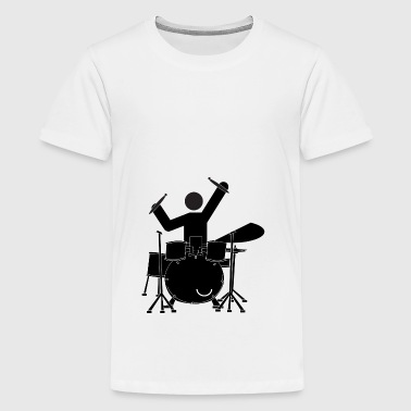drummer - Teenage Premium T-Shirt
