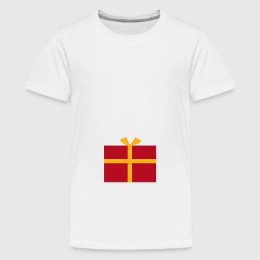 Gift with a bow - Teenage Premium T-Shirt