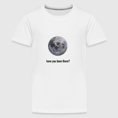 Moon siger gaveidé - Teenager premium T-shirt