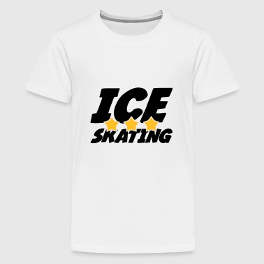 Ice Skating - T-shirt Premium Ado