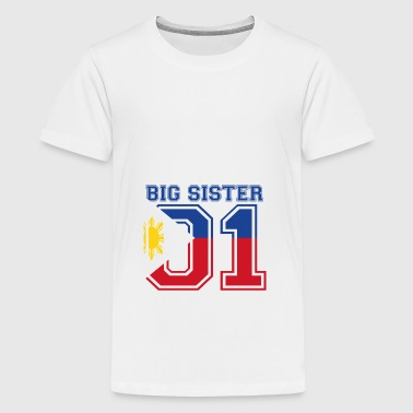 Big Sister grote zus 01 Filipijnen - Teenager Premium T-shirt