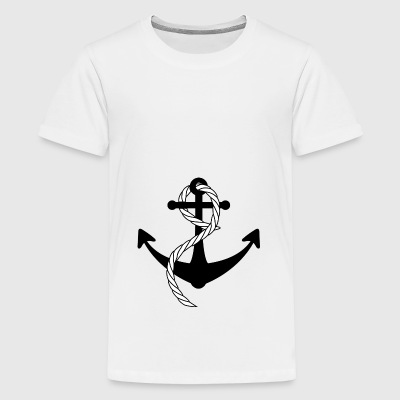 Ship Anchor - Teenage Premium T-Shirt